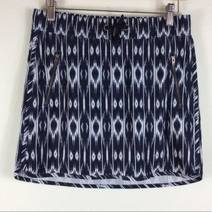 Athleta navy blue and white athletic skirt. Nice!
